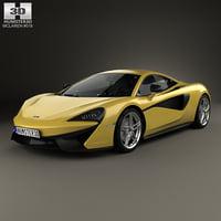 3D mclaren 570s s