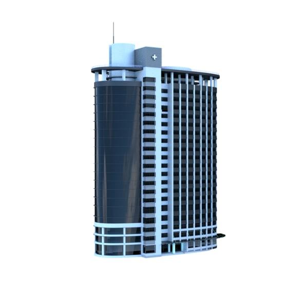 3D office building