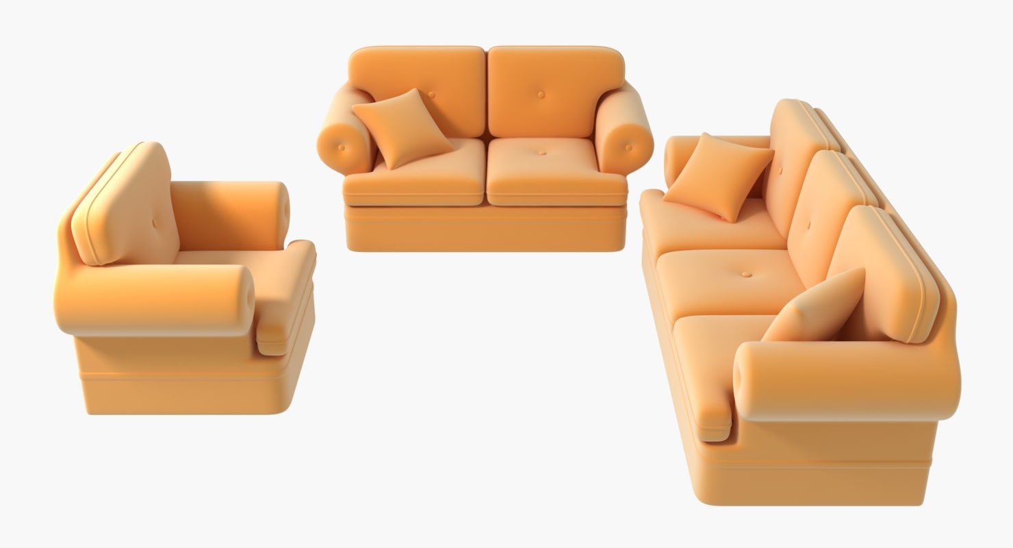 Sofa 3D Models For Download TurboSquid