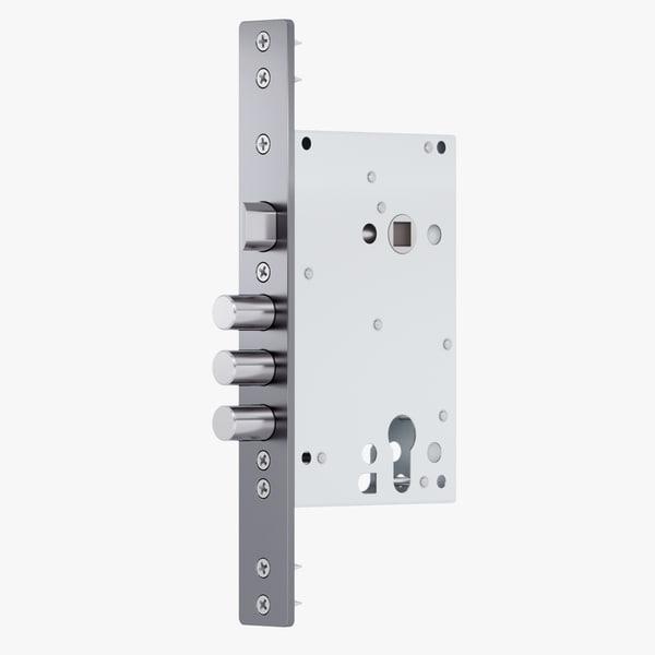 door lock 3D