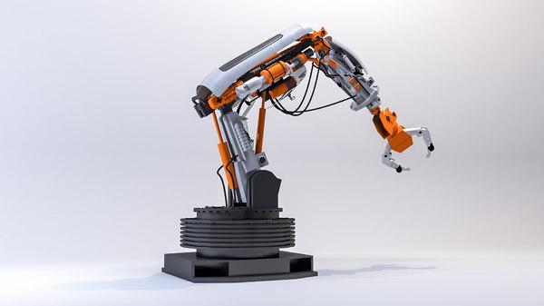 industrial robot arm model