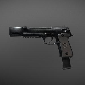 3D beretta m92