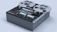 3D reel tape recorder studer