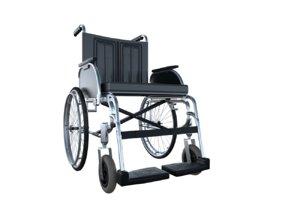 3D wheelchair drivers animate