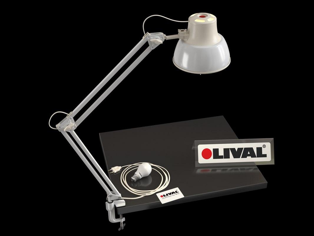 lamp table lival model