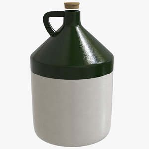 stoneware jug beer growler model