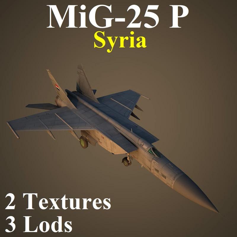 mikoyan sir 3D model
