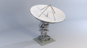 vla dish 3D model