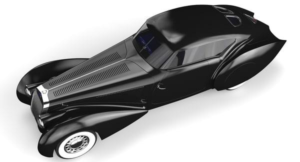 black delage 3D