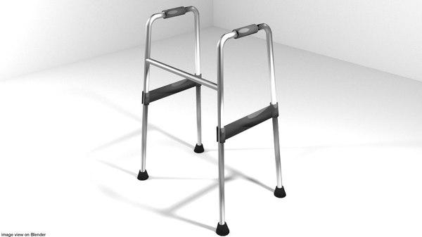 3D aids walker model