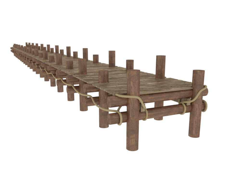 bridge woods 3D model