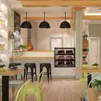 Cafe Interior 14