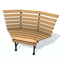 3D usual bench l