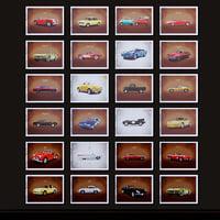 vintage automobile 3D model