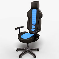 sci fi lab chair 3D