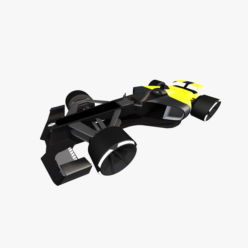 3D renault rs 2027 f1 car