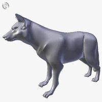 wolf basemesh