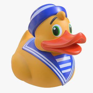 rubber duck 08 3D