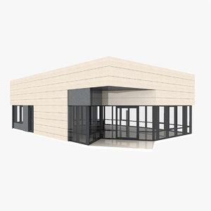 small expo pavilion model