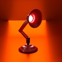 3D famous lamp animation