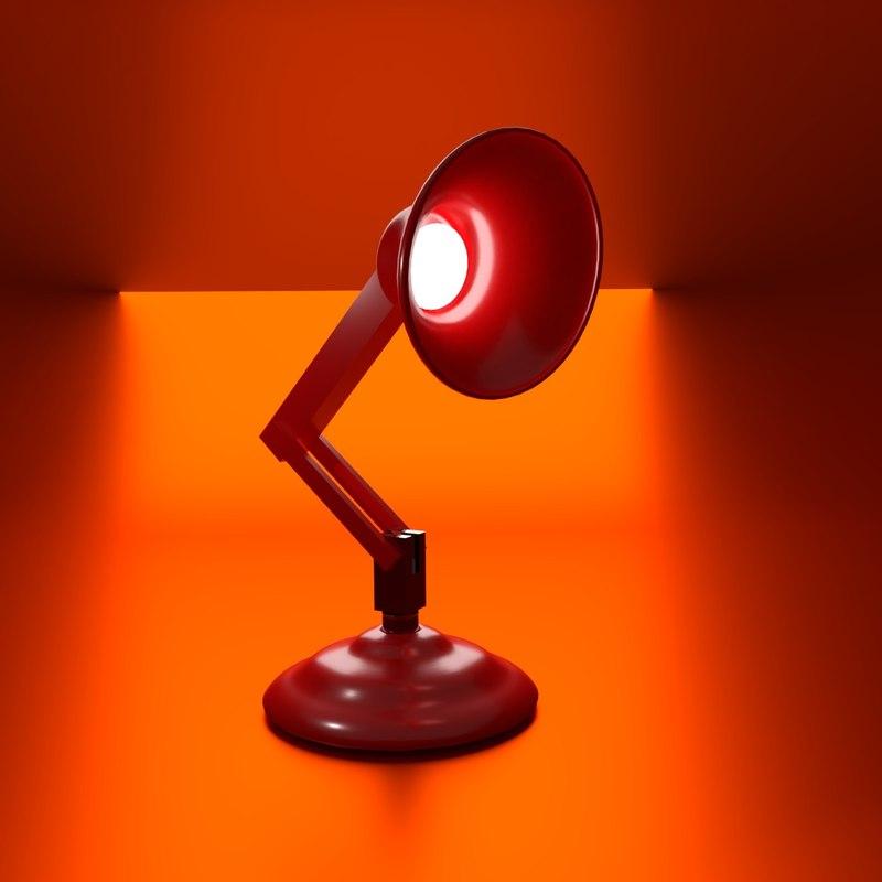 3D famous lamp animation
