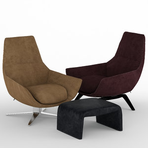 3D chair misuraemma ermes model