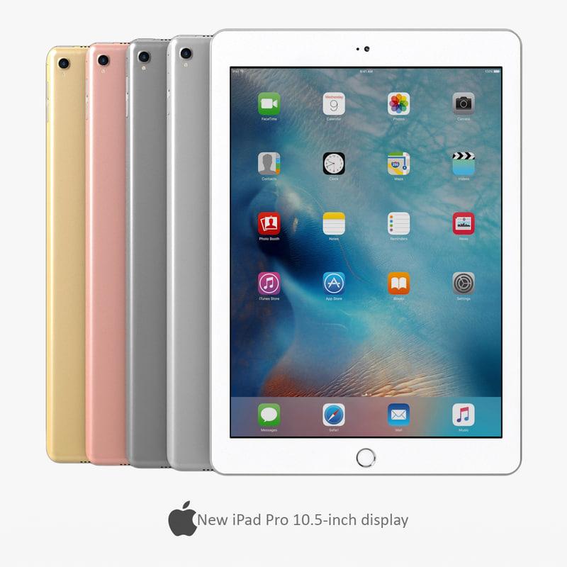 3D apple ipad pro model