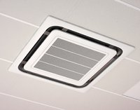 ceiling air conditioner 3D