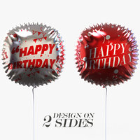 3D model helium balloon events