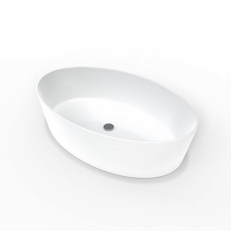 ceramic sink 3D