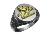 Lion top ring