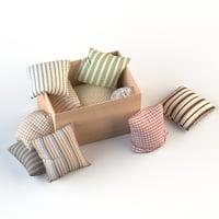 set pillows model