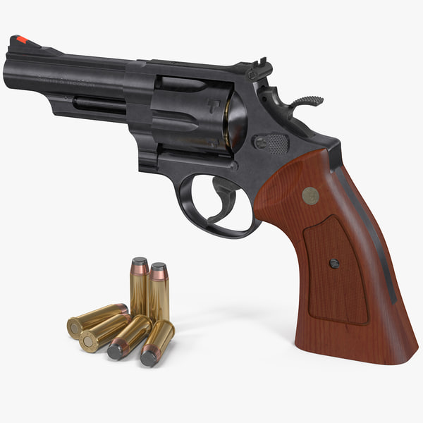 3D model smith wesson 29 4