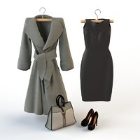 3D dress clothing