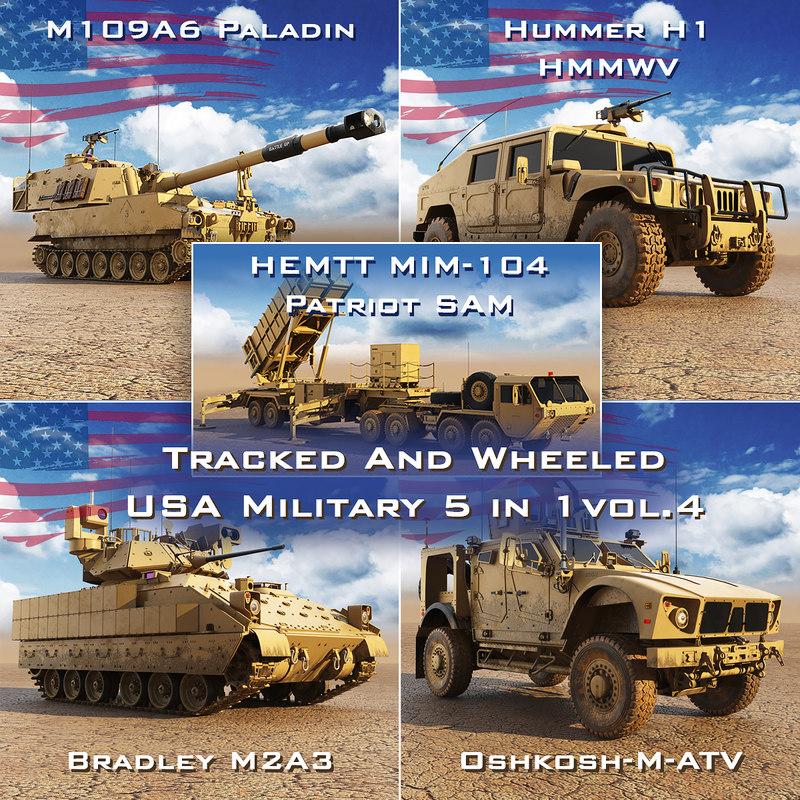 military 5 1 vol4 3D model