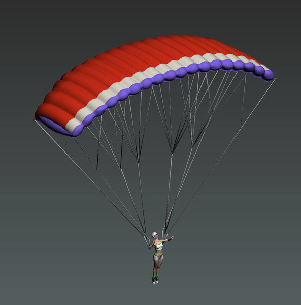Paragliding 3D Models for Download | TurboSquid