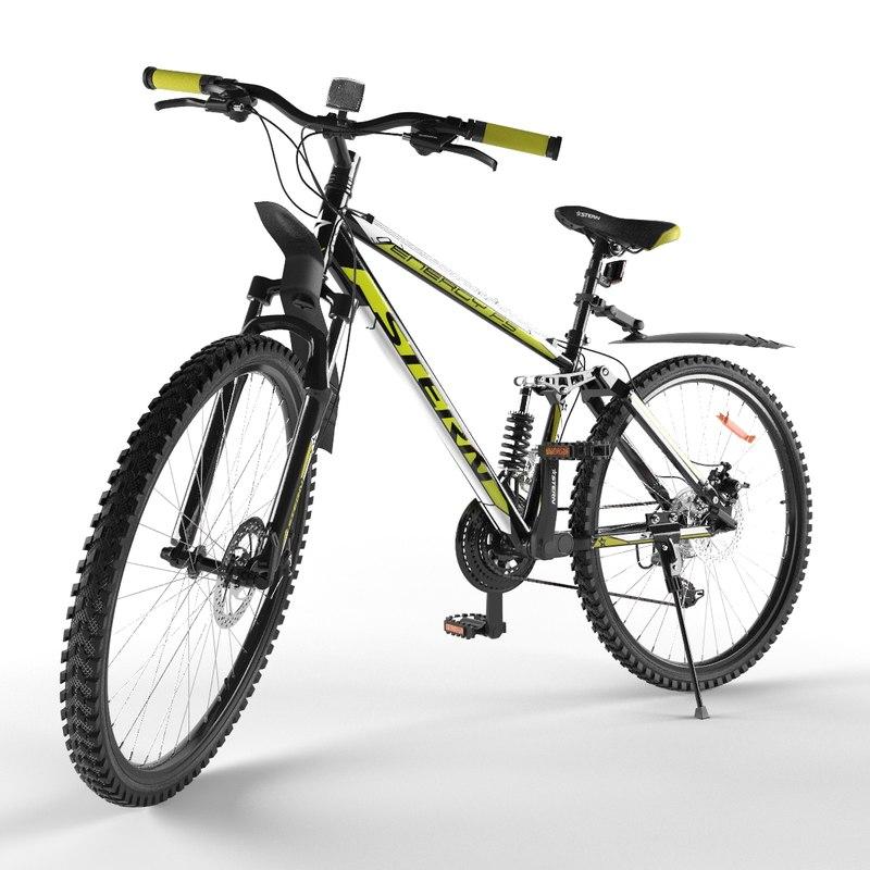 3D bicycle stern
