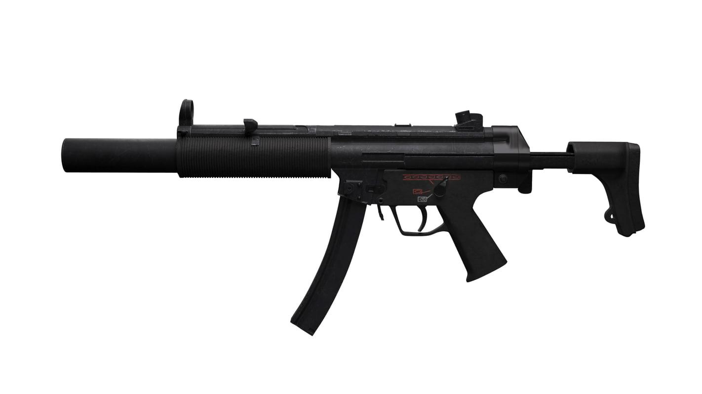 gun rifle 3D model