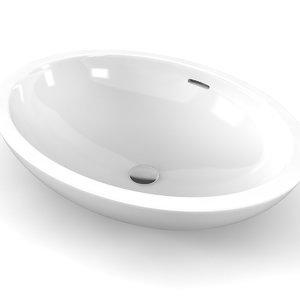 3D model agape spoon xl