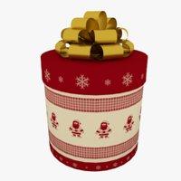 Big Round Gift Box