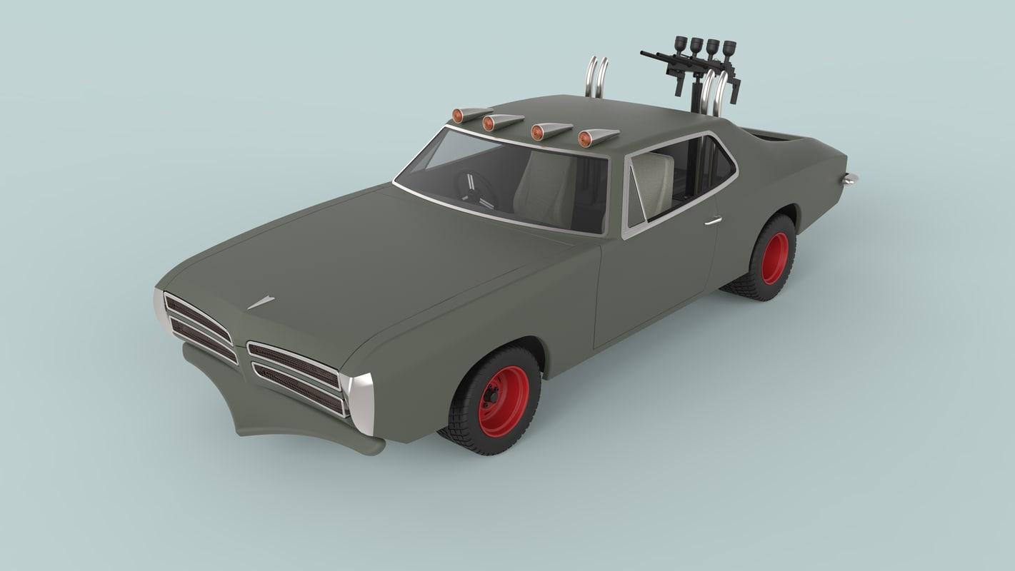 vehicle dart cars model