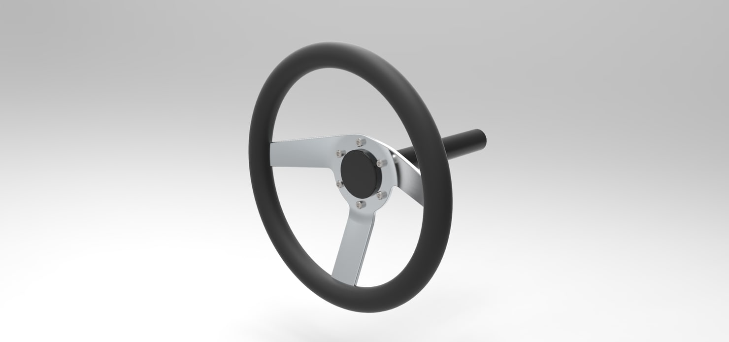 3D stearing wheel