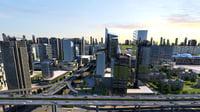 city scene 02 3D