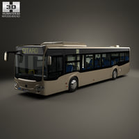 3D mercedes-benz citaro o530 model