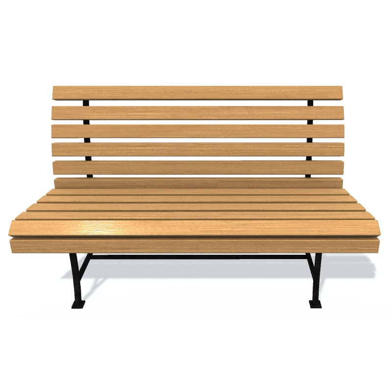 usual bench m 3D