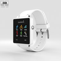 3D model garmin vivoactive white