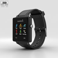 garmin vivoactive black 3D model