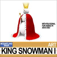 king snowman model