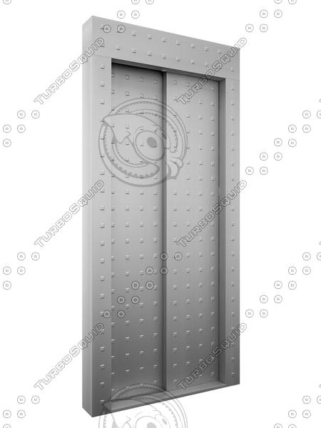3D elevator gate