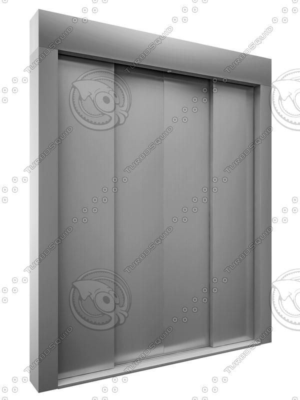 elevator gate 3D model